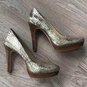 "Calvin Klein Kendall 4.5"" heel, size 7"